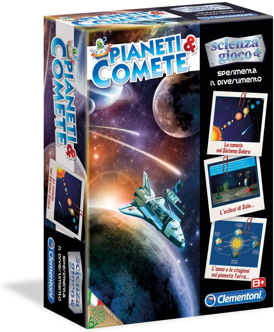 Planéty a kométy
