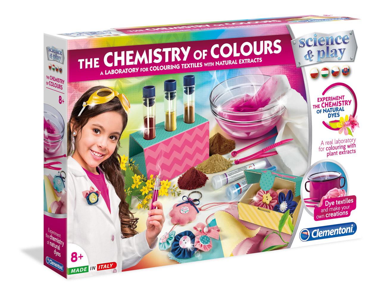 Chémia farieb