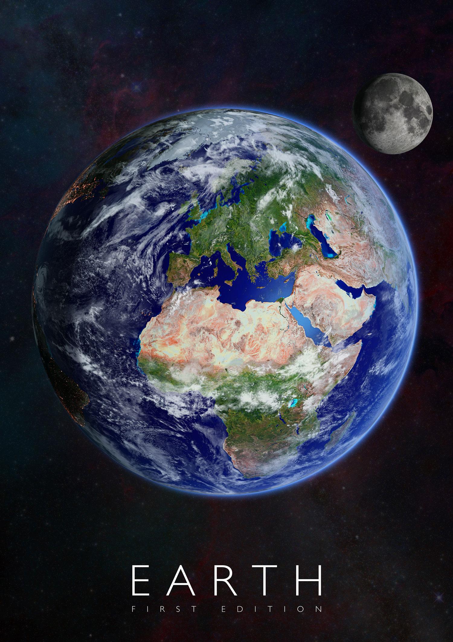 Plagát Zem pre rozšírenú realitu
