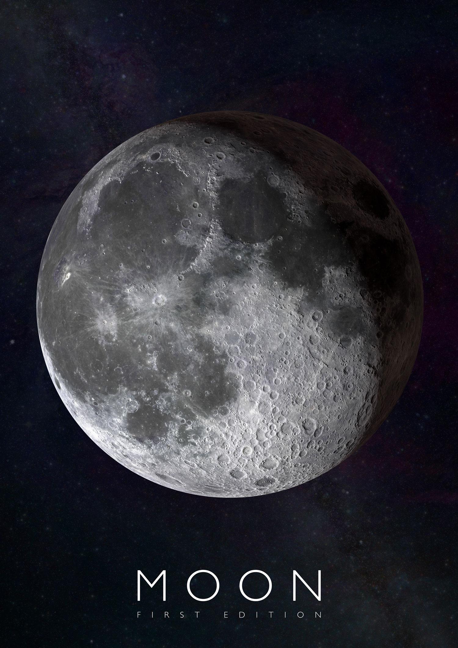 Plagát Mesiac pre rozšírenú realitu
