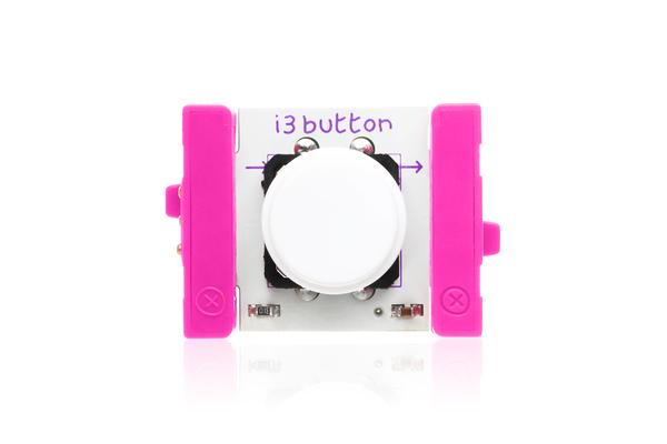 prvok littleBits - tlačidlo