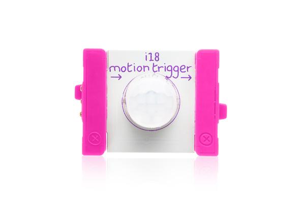 prvok littleBits - snímač pohybu