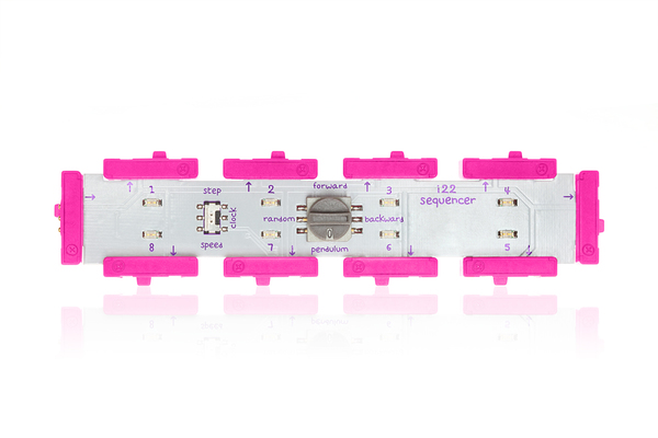 prvok littleBits - Sekvencer