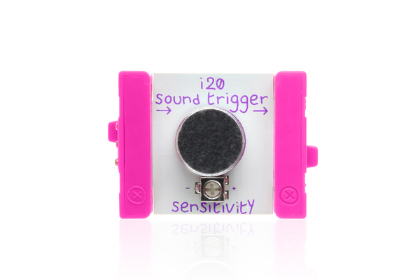 littleBits - sound trigger