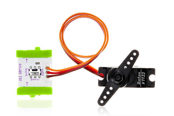 prvok littleBits - Servo motor
