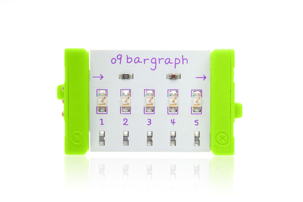 prvok littleBits - Bargraph