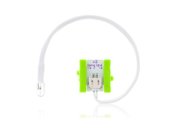 prvok littleBits - LED s vodičom