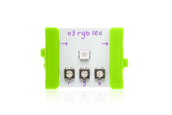 prvok littleBits - RGB LED