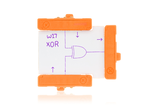 prvok littleBits - Double XOR