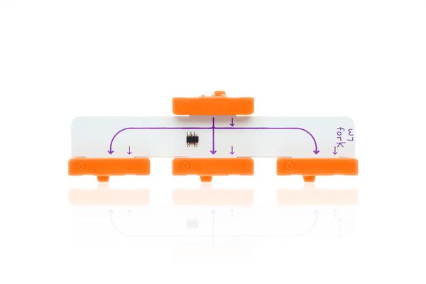prvok littleBits - Rozdvojka
