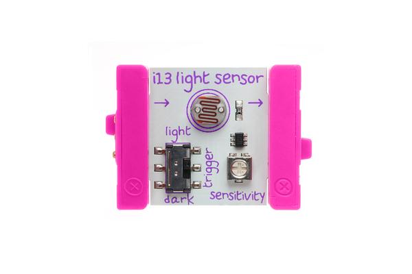 littleBits - snímač svetla