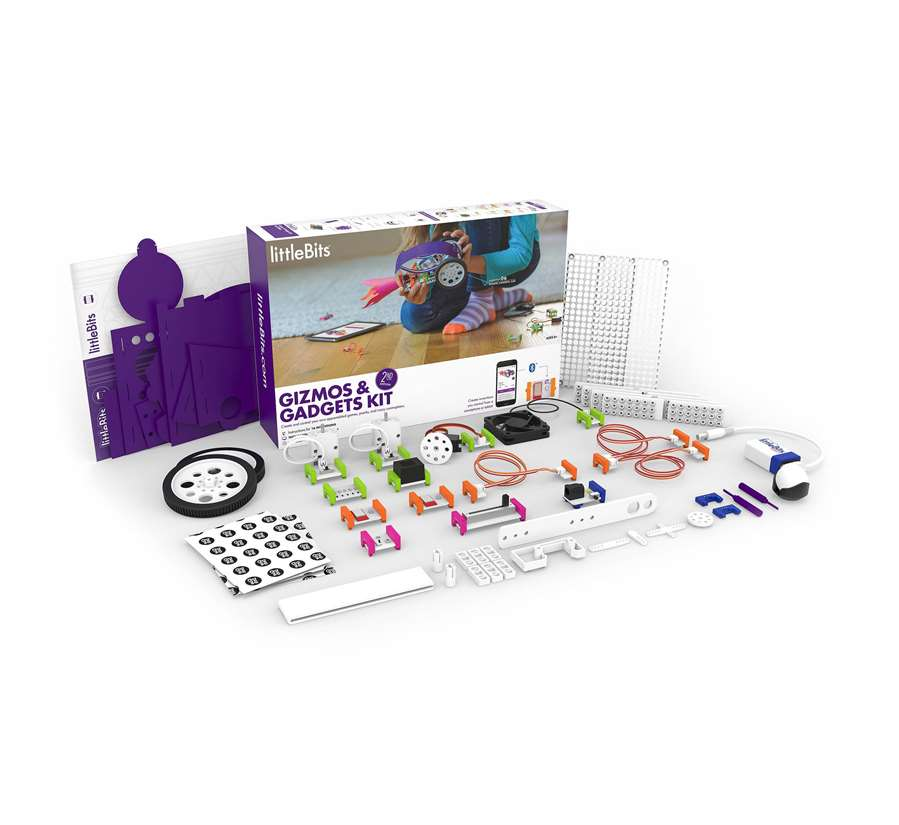 littleBits gizmo-gadgets second edition