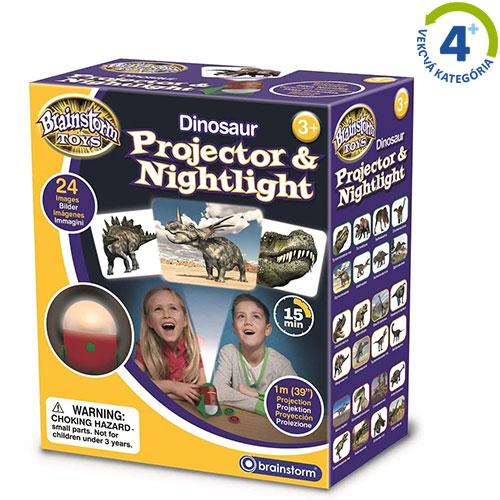 Projektor a nočné svetlo - Dinosaury