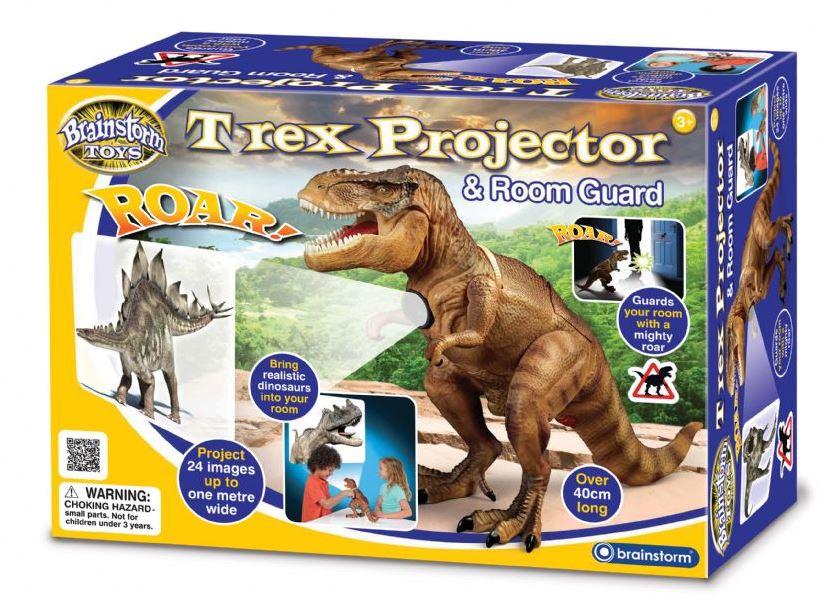 T-Rex projektor a strážca izby