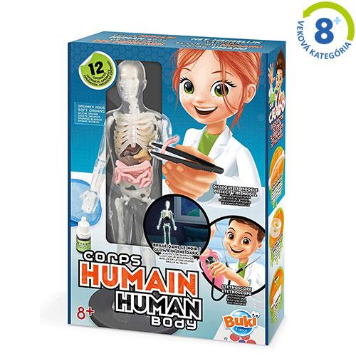 Ľudské telo - experimentálna súprava 2