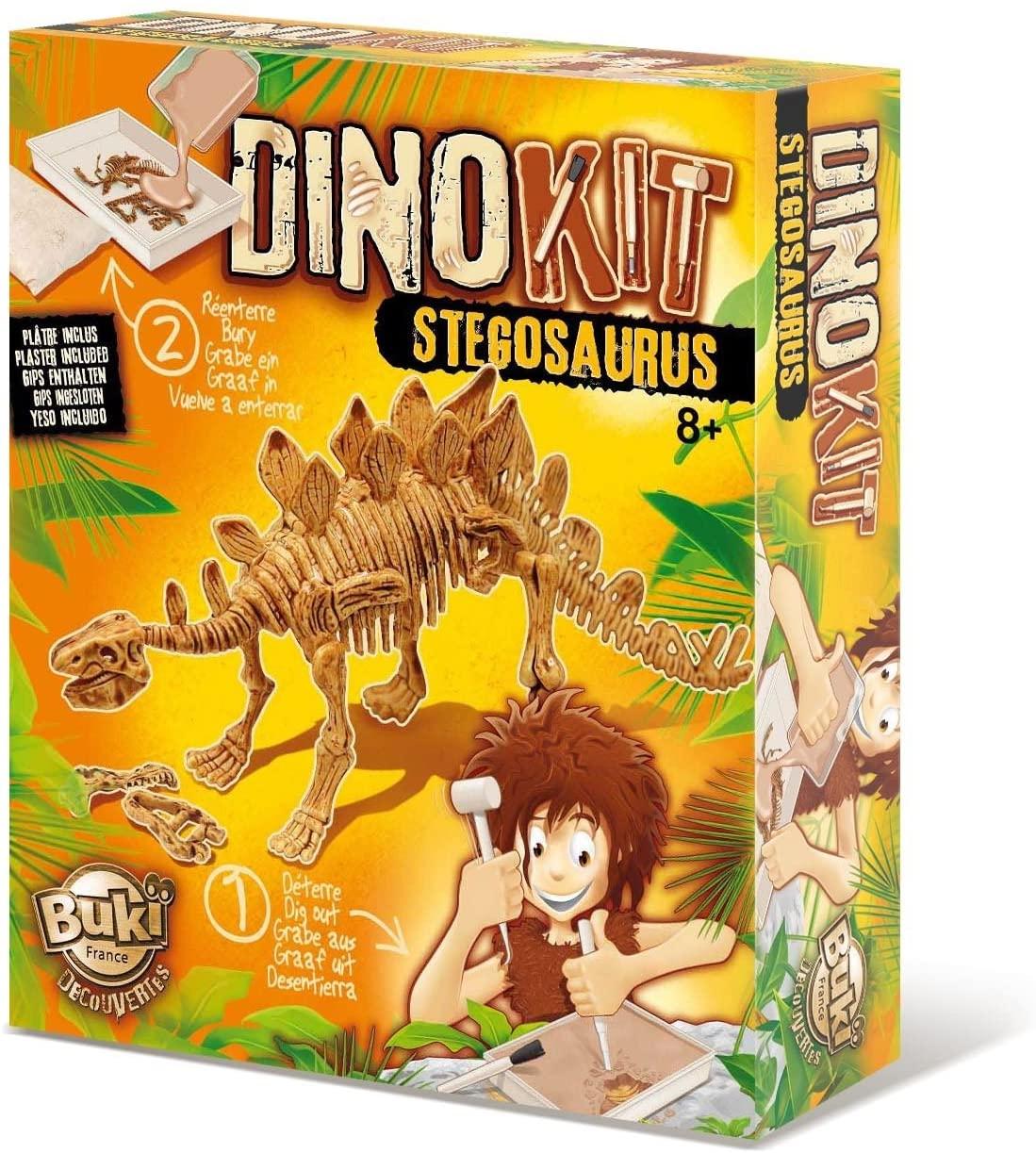 Vykopávka - Stegosaurus