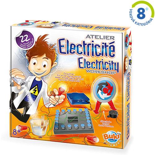 Vedecká stavebnica - Elektrina