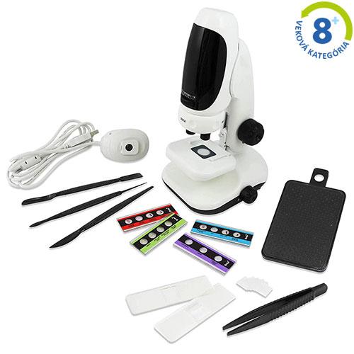 Digitálny mikroskop - 3 v 1