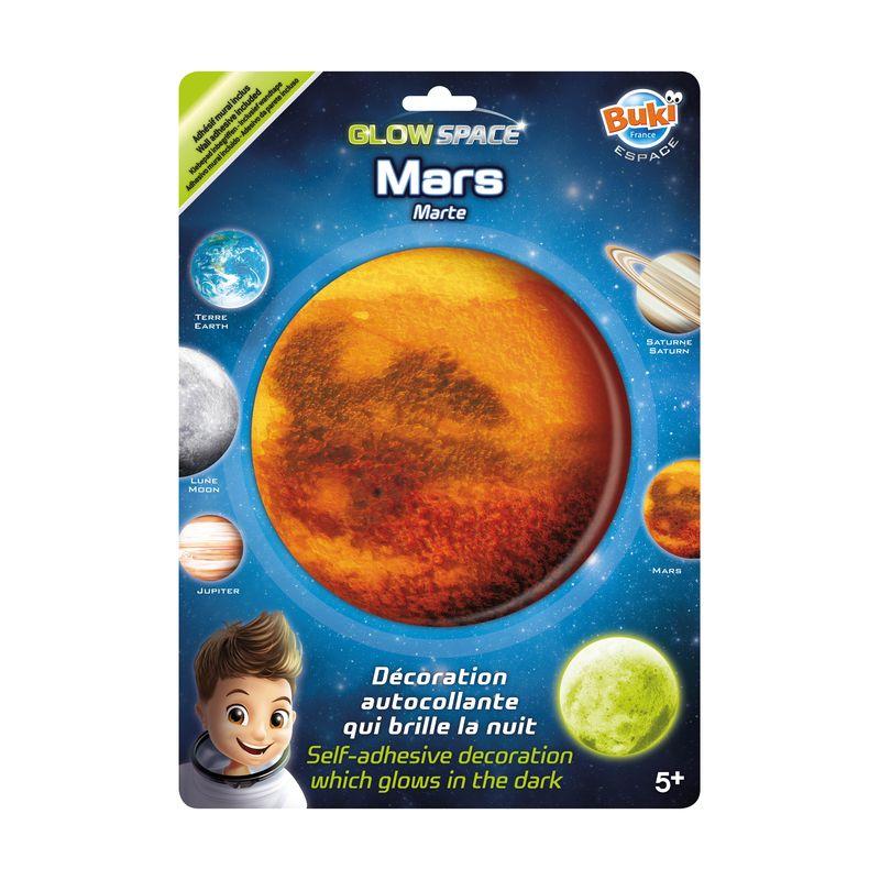 Mars - svetielkujúca dekorácia na stenu