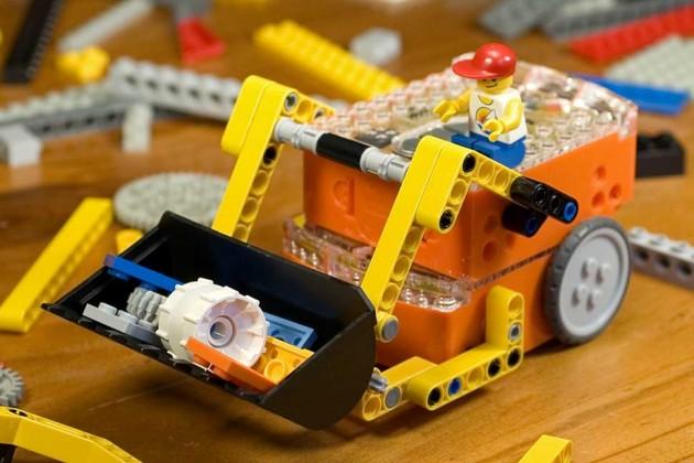 robot Edison a lego