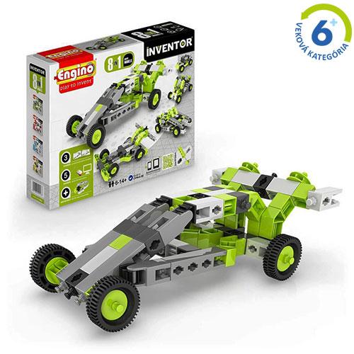 Inventor - 8 modelov vozidiel