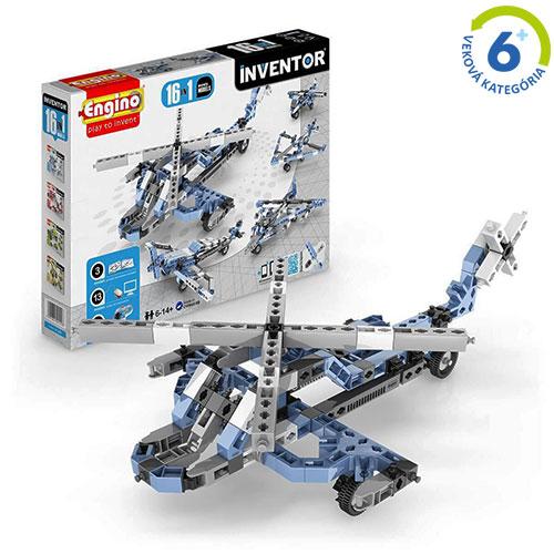 Inventor - 16 modelov lietadiel