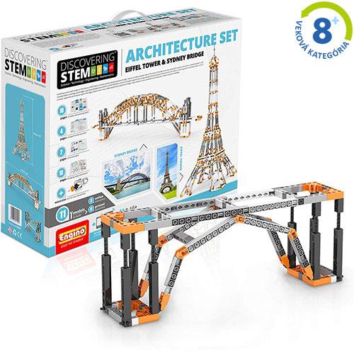 Architektúra: Eiffelova veža a iné slávne stavby