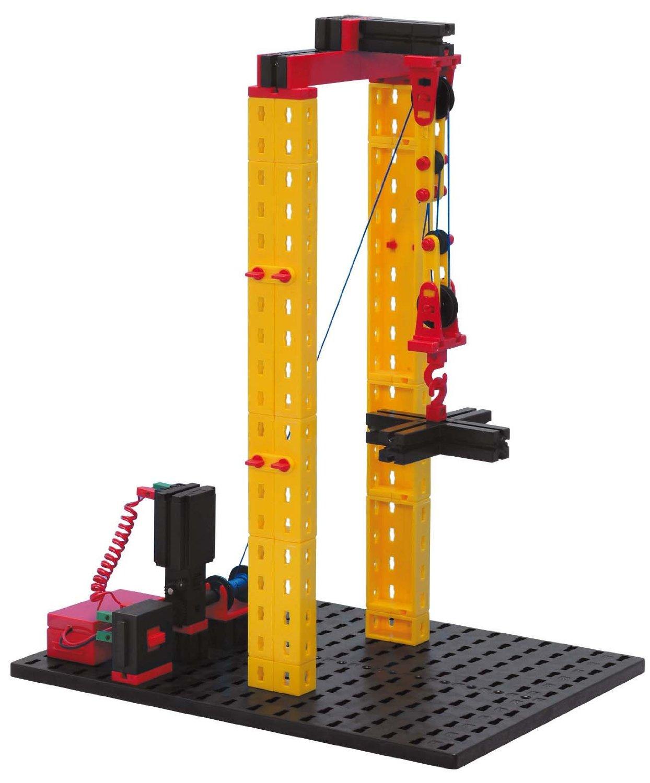 technická stavebnica - mechanika a statika - kladkostroj