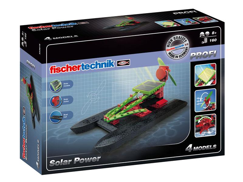 Fischertechnik - Slnečná energia