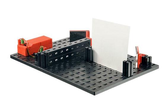 stavebnica fischertechnik - optics - laboratórium optiky