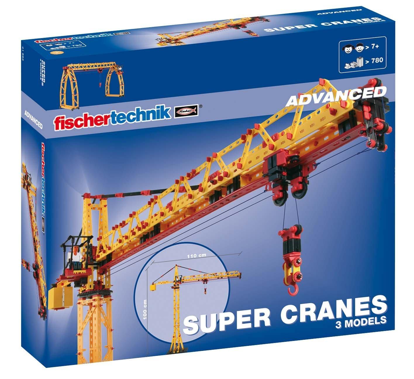 fischertechnik super cranes - žeriavy