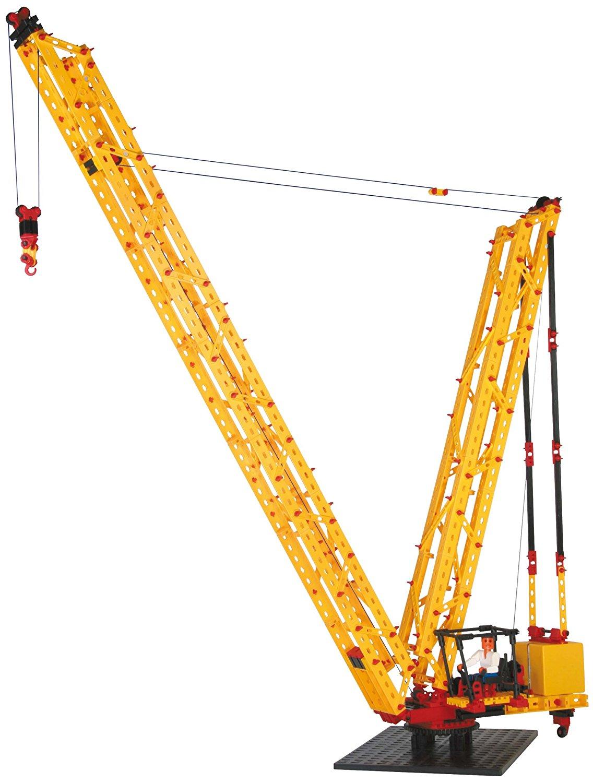 stavebnica fischertechnik super cranes - ťažkotonážny žeriav