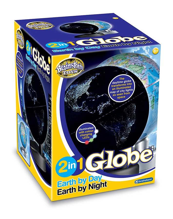 Glóbus 2 v 1 - Zem cez deň a v noci