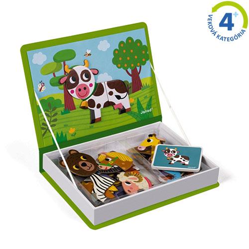 Magnetická kniha - Zvieratá