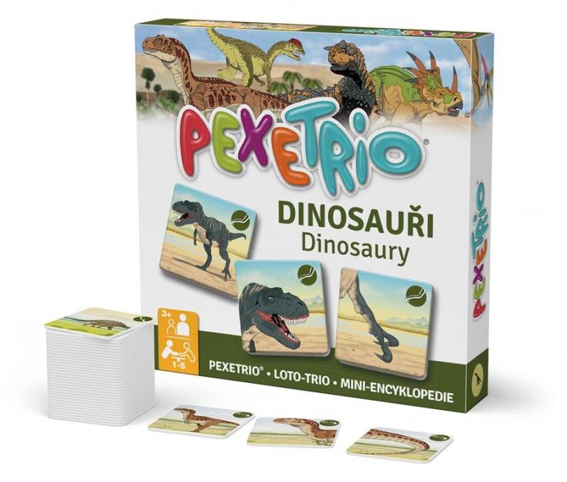 Pexetrio - Dinosaury