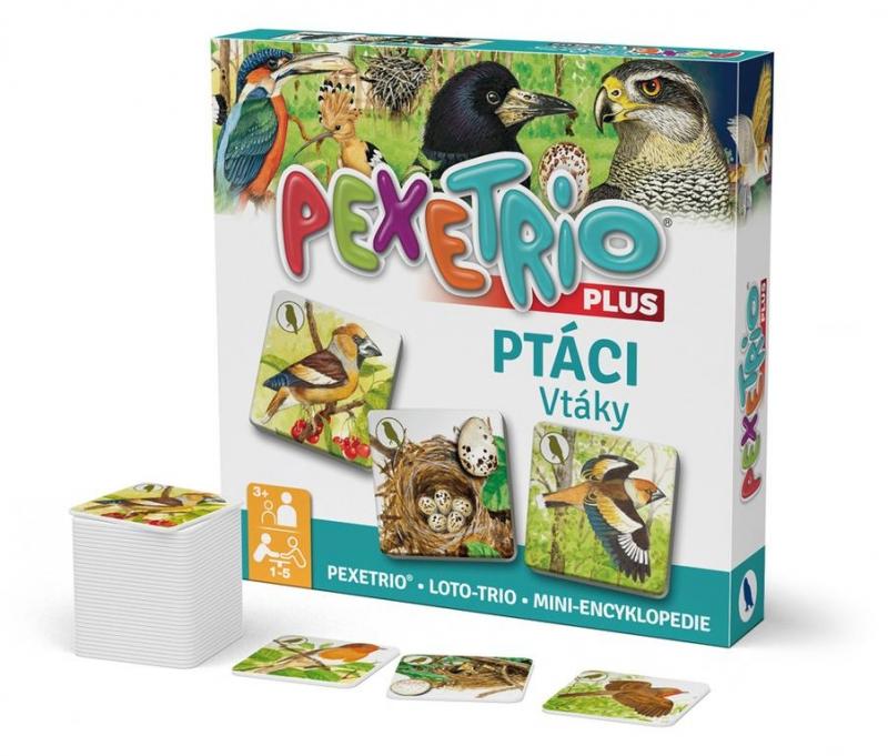 Pexetrio plus - Vtáky