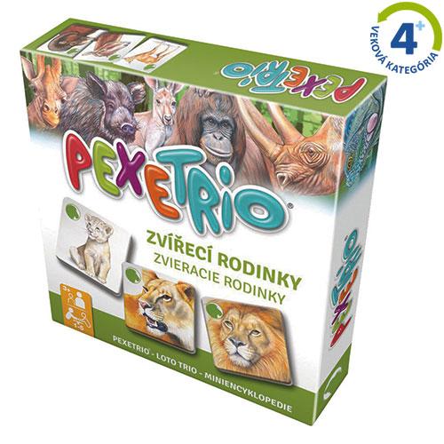 Pexetrio - Zvieracie rodinky
