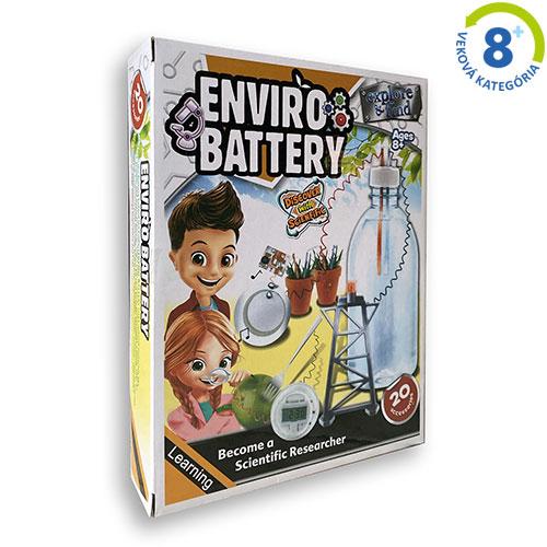 Zelená batéria