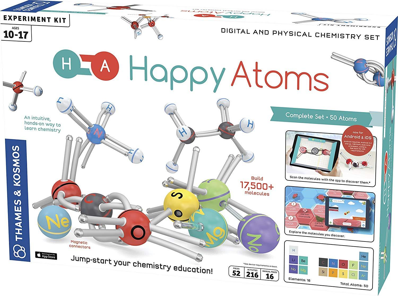 Štastné atómy - komplet