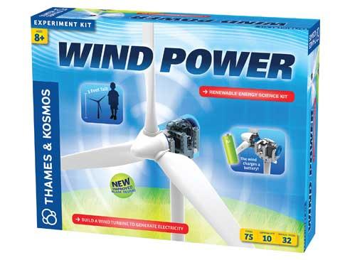 Vedecká stavebnica - energia vetra