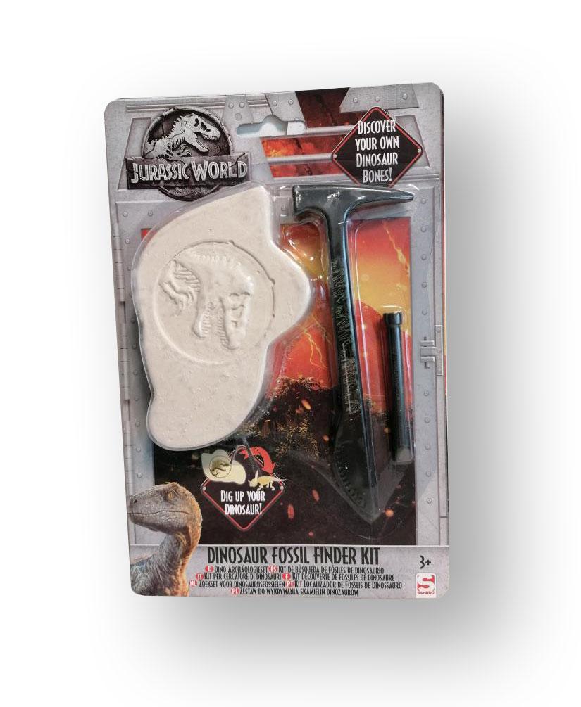 Mladý paleontológ - fosília z jurského parku