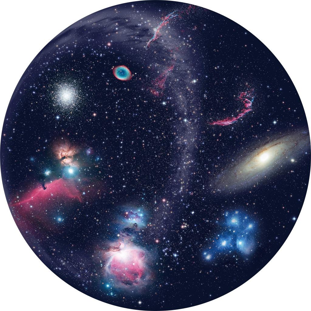 Disk pre planetárium - Galaxie