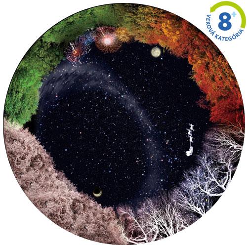 Disk pre planetárium - štyri ročné obdobia