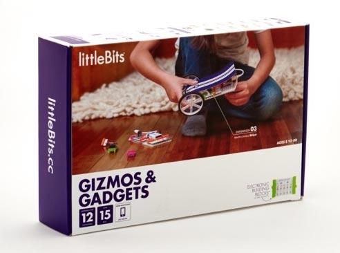 stavebnica littleBits - sada pre vynálezcov