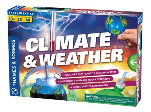 Vedecká sada - klíma a počasie
