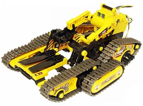 Robotické vozidlo 3 v 1