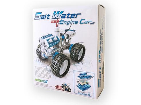 Auto na slanú vodu - technická stavebnica